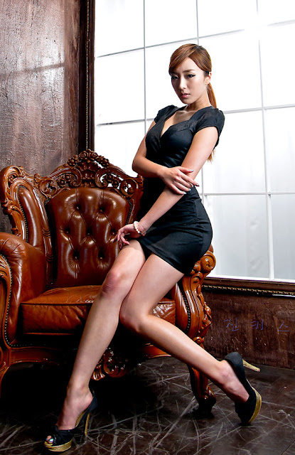 4 Minah in Black-very cute asian girl-girlcute4u.blogspot.com