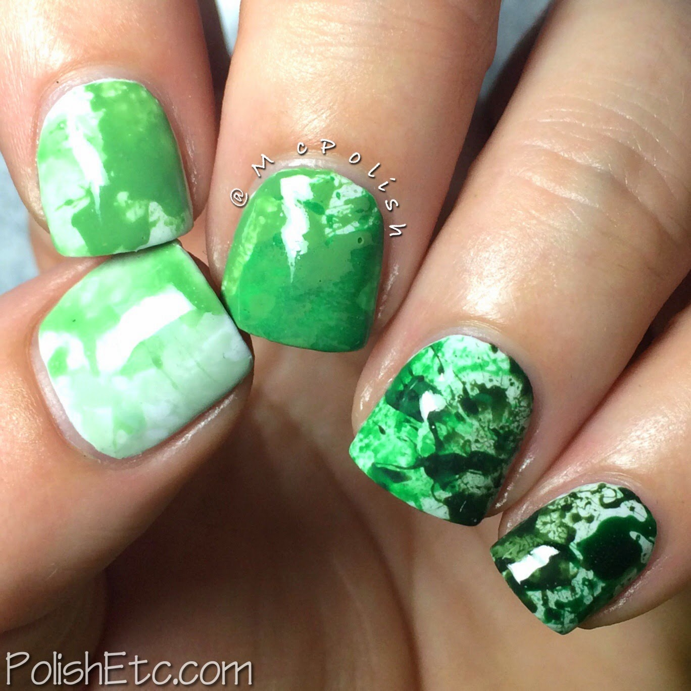 #31dc2014 - 31 Day Nail Art Challenge 2014 by McPolish - GREEN