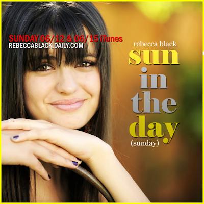 Capa de Sun In The Day da Rebecca Black