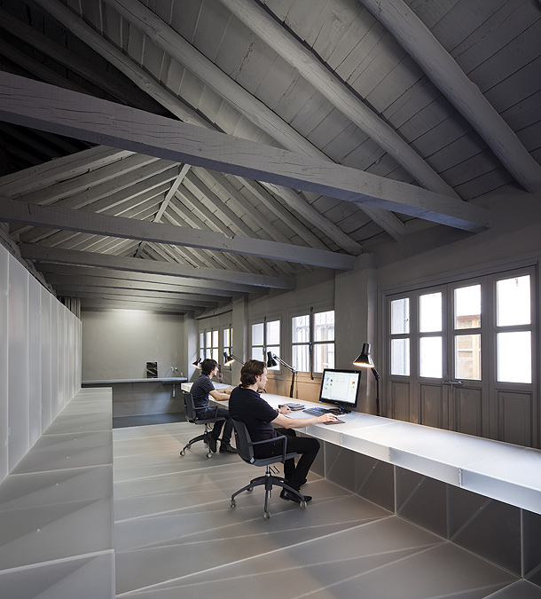 Neo arquitecturaymas rehabilitacion toledo para un - Estudio arquitectura toledo ...