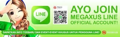 Megaxus Rilis Akun Sosial Media LINE Official Dengan Berbagai Hadiah Menarik