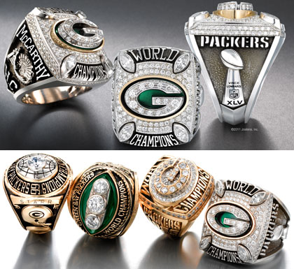 Green Bay Packers Championship Ring
