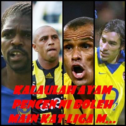 Senarai2 pemain import yg bermain di liga Malaysia