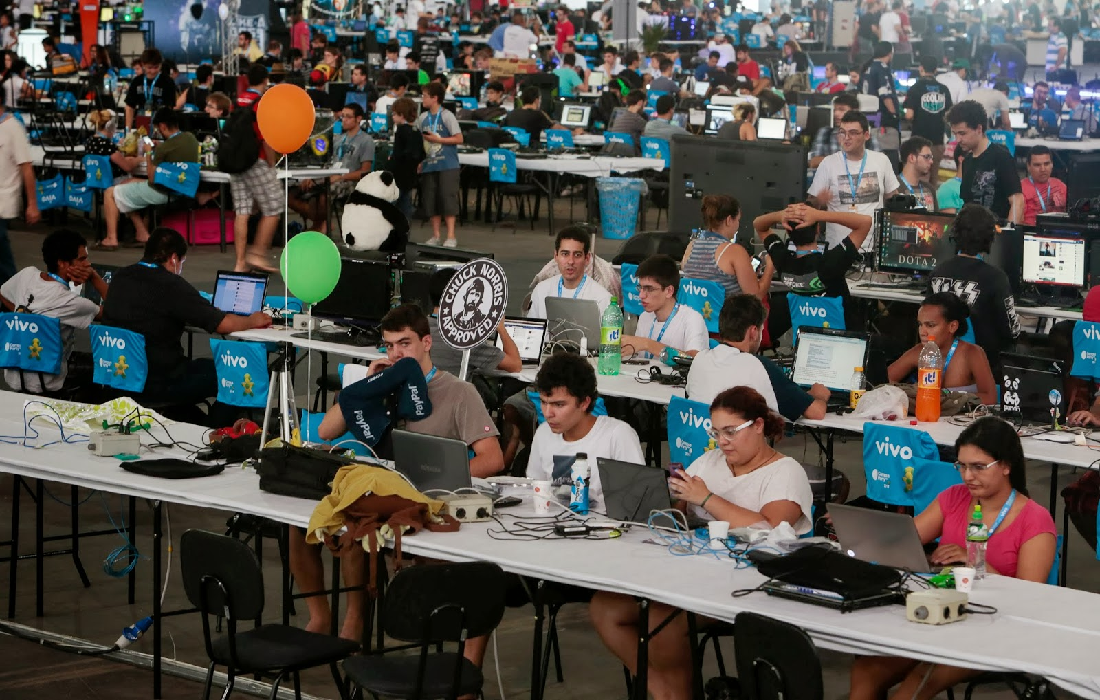 Technology Festival Campus Party in Brazil