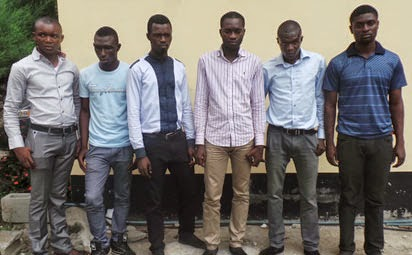 First Class Graduate And Final Year Students Arrested For Online Fraud