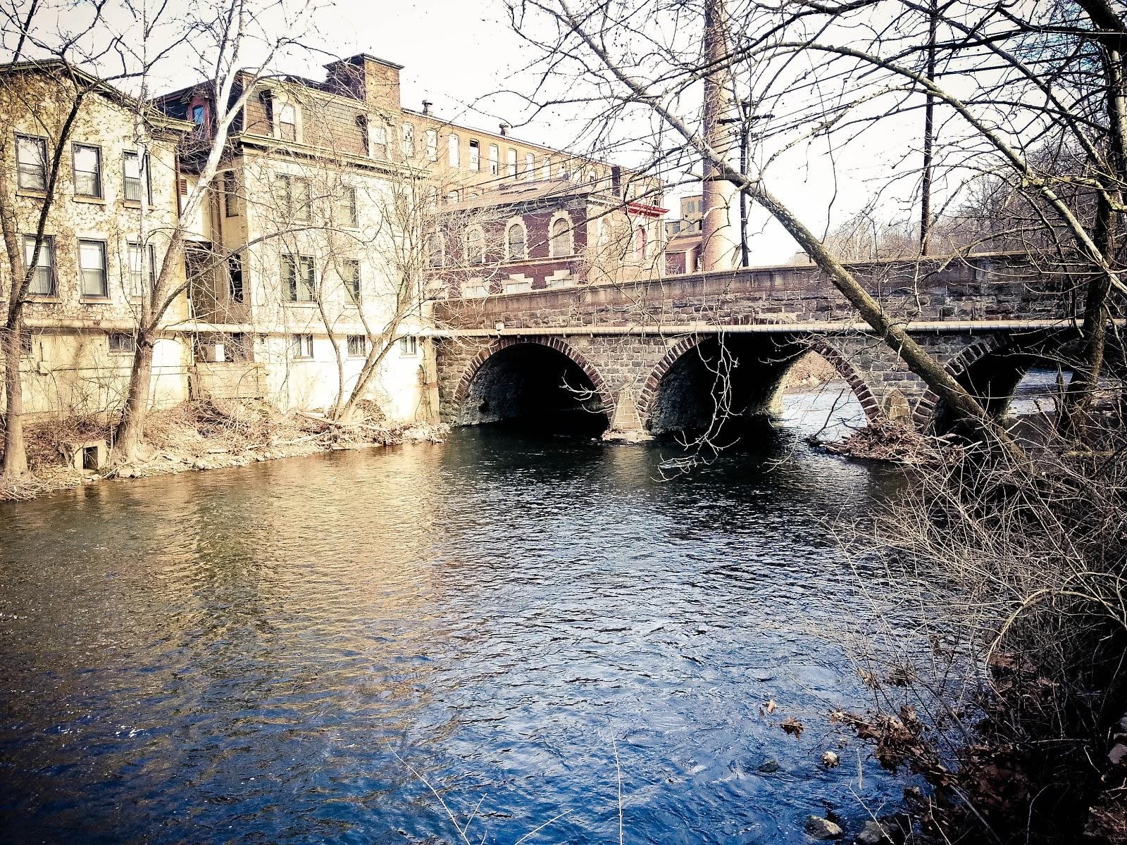 Pocono fly fishing bushkill creek easton pa jan 19 2013 for Fishing creek pa