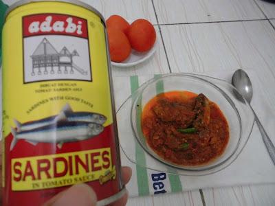Sarden Adabi Makanan Cepat Saji yang Kaya Gizi
