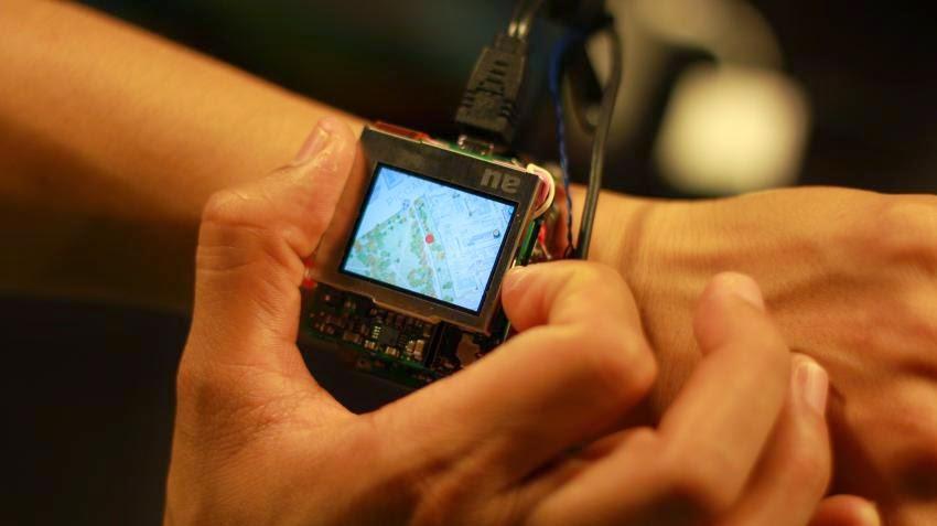 Carnegie Mellon smartwatch prototype