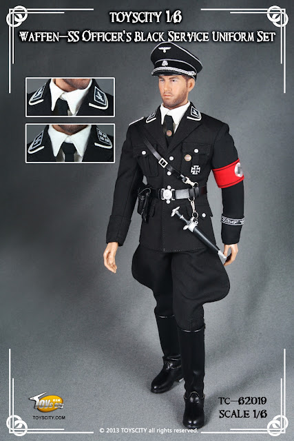 I really was amused by the  Waffen Ss Dress Uniforms