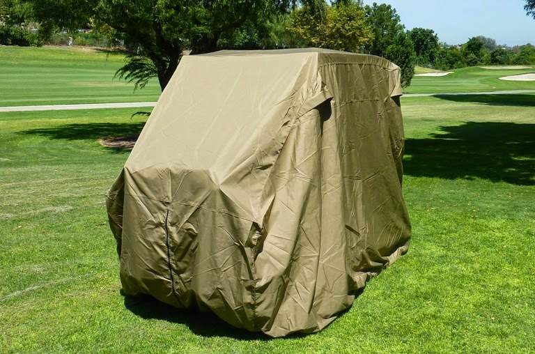 Formosa-Roof-Top-Golf-Cart-Cover-Taupe