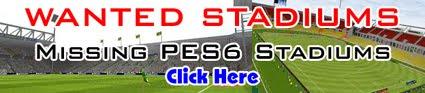 Missing PES6 Stadiums