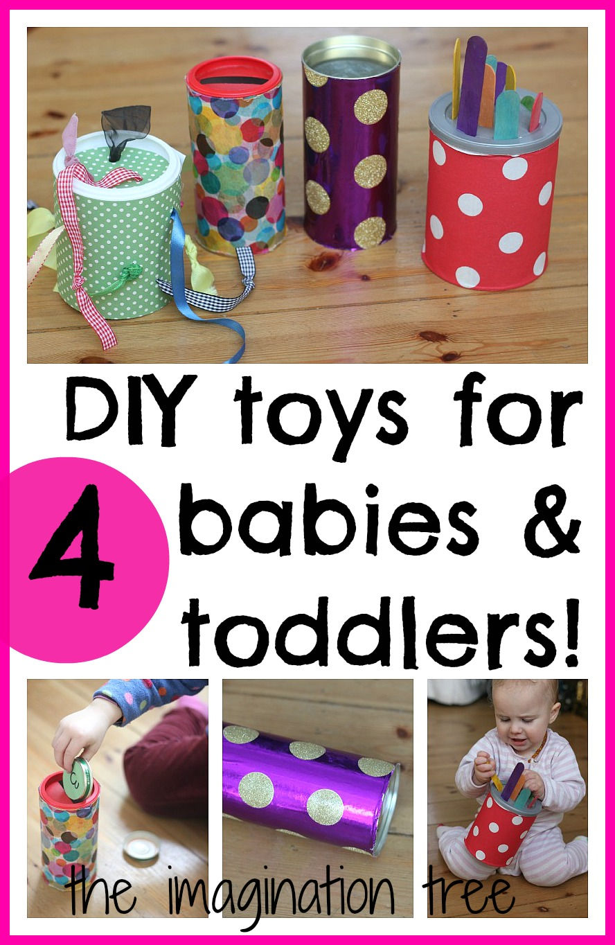 Homemade Baby Toys : Diy baby and toddler toys for motor skills the