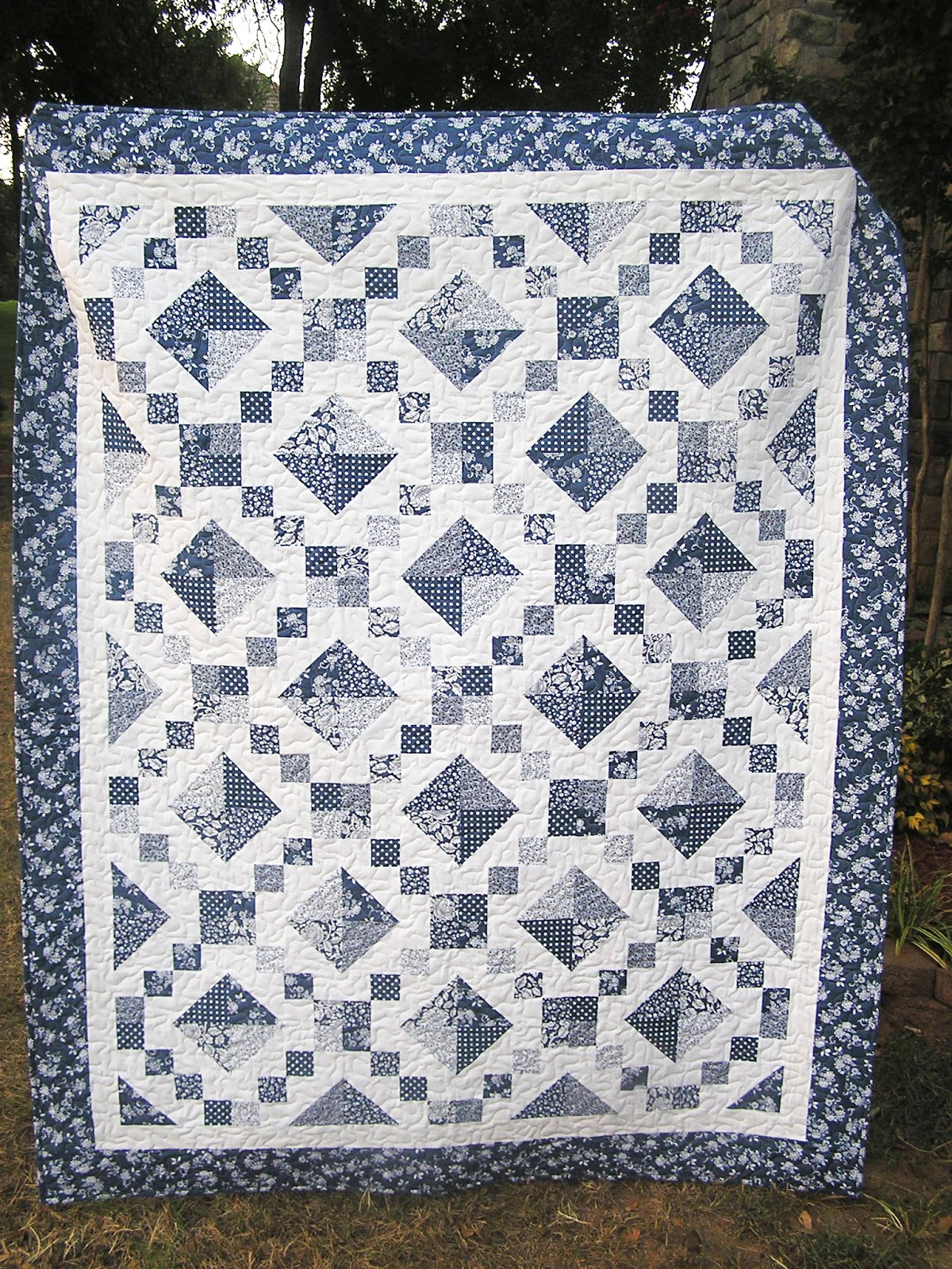 studio new tiny aura ruby quilt quilting quilts blue bits