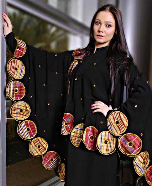 Fashionable Abaya Trends 2012
