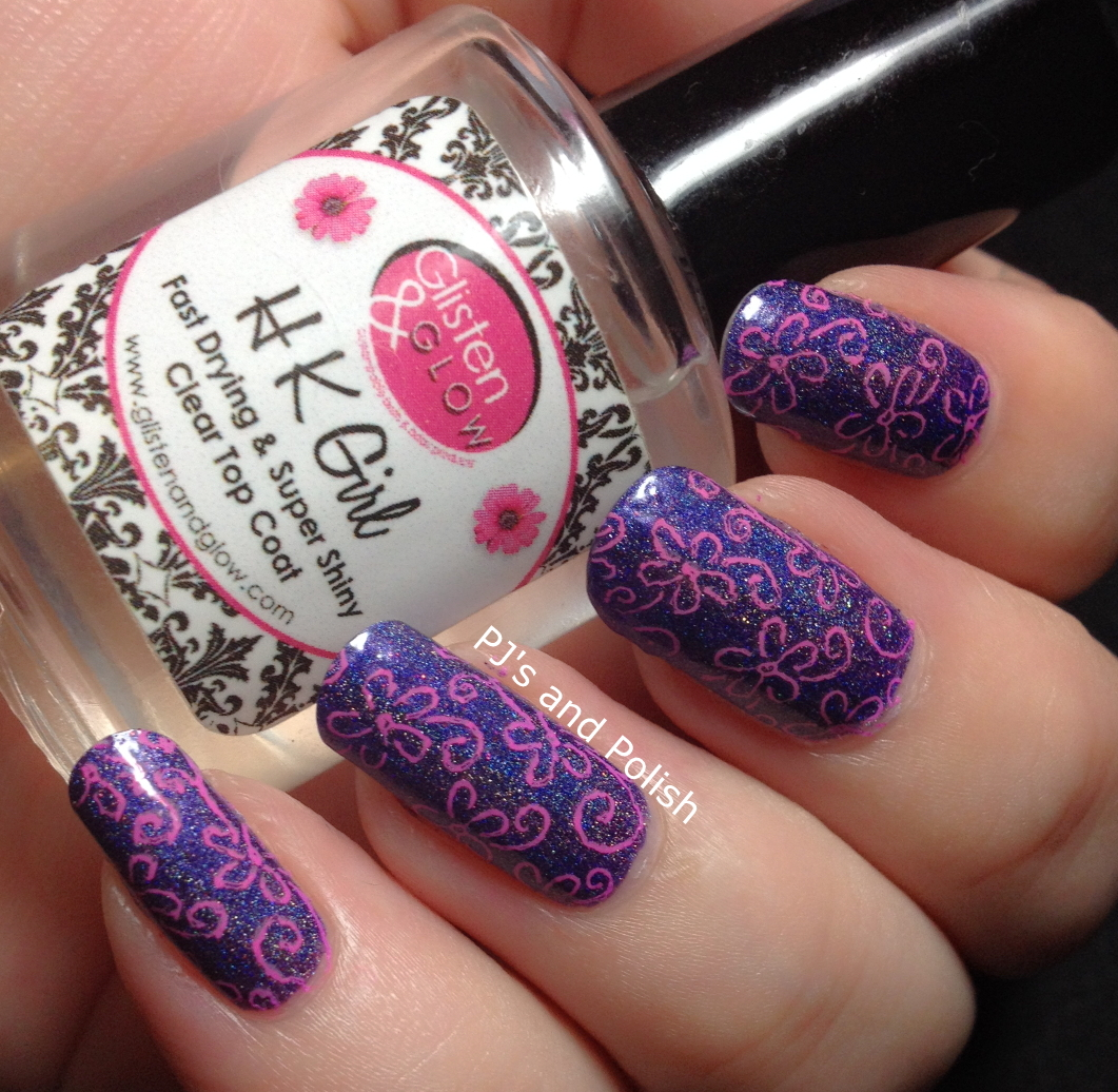 Stamping Mundo de Unas Sugar Bubbles Girly Bits What Really Happened In Vegas Protect Your Girly Bits HK Girl Nail Art