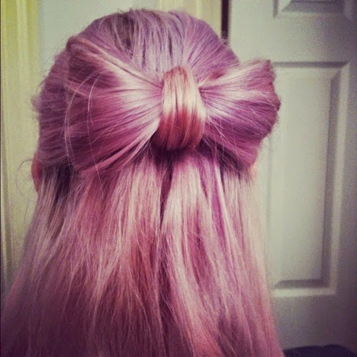 ... hairstyles with bows tumblr, bow hairstyle step by step, bow hairstyle