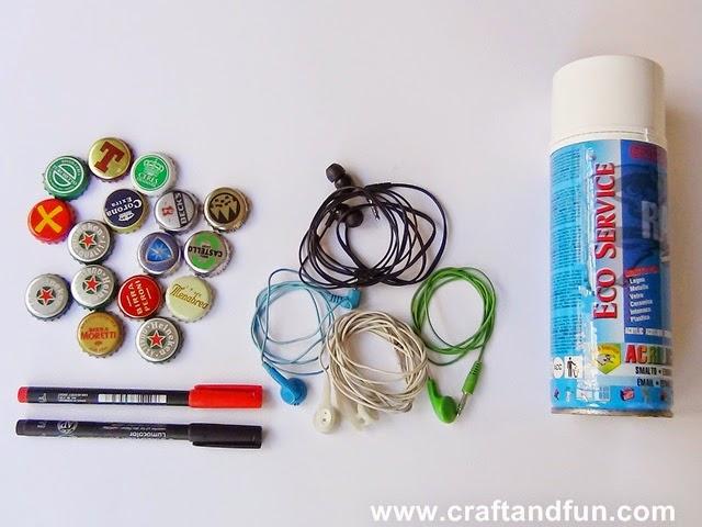 Riciclo creativo craft and fun riciclo creativo dei for Calamite frigo fai da te
