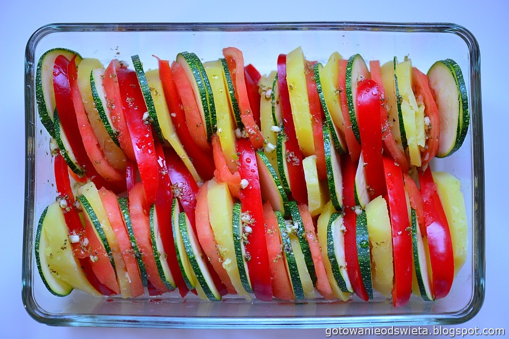 Zapiekanka warzywna przed
