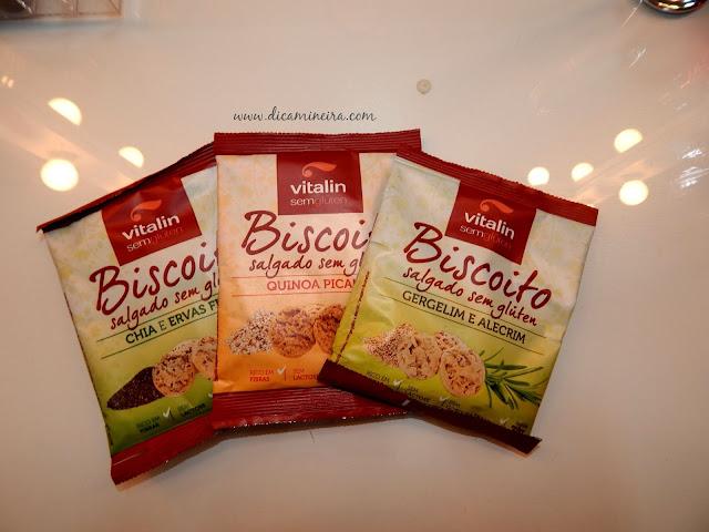 Biscoitos Salgados Vitalin Alimentos
