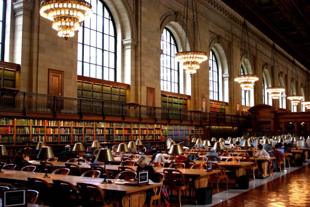 Landmark s birthday new york public library