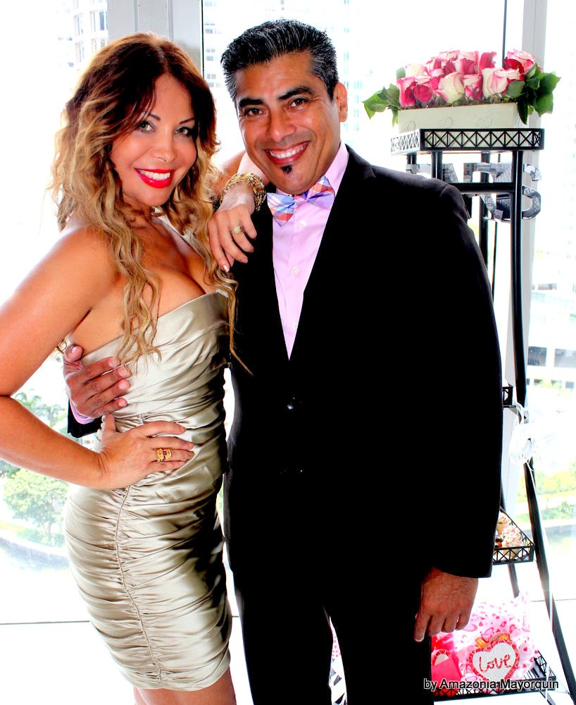 He proposed, she said YES: Fashionable engagement Rondon-Diaz was celebrated at Viceroy Hotel