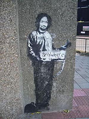 Stencil Graffiti Design