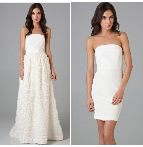 Convertible Wedding Gown Detachable Skirt: WhiteAzalea 2 In1 Wedding Dresses: Beautiful And Cute 2 In