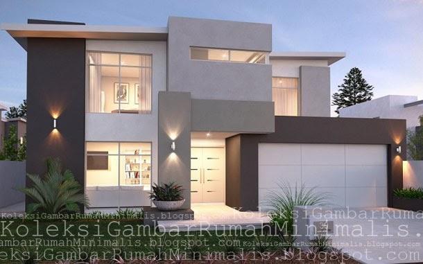koleksi rumah minimalis modern terbaru 2017 desain rumah