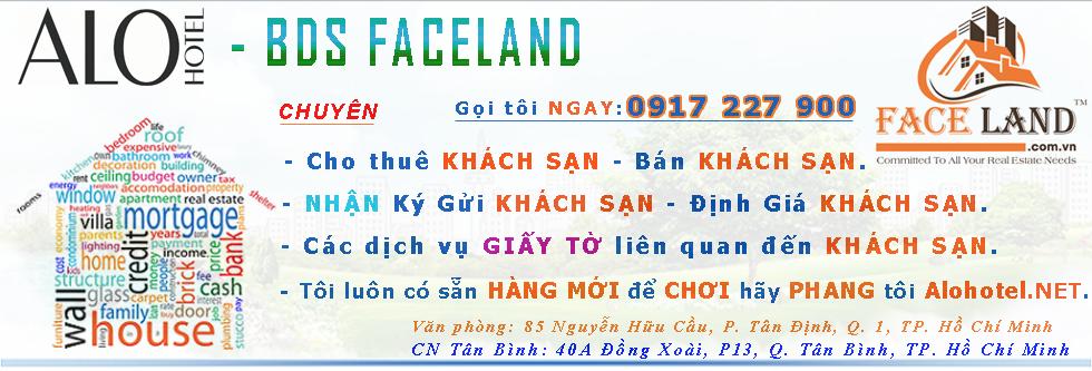 Cho thuê khách sạn, bán khách sạn, sang nhượng khách sạn, faceland.com.vn