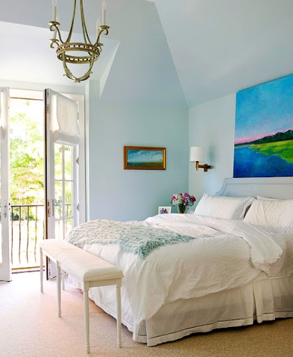 Create A Seaside Bedroom Retreat 5 Color Ideas From Better Homes And Gardens Completely Coastal