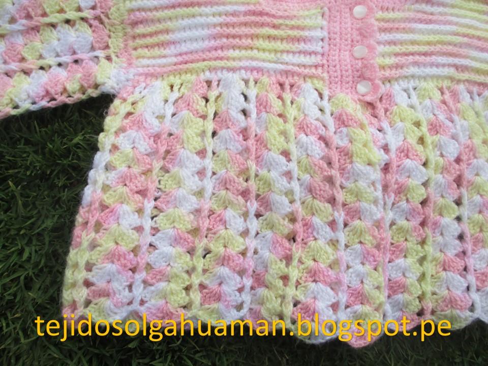Chambritas Tejidas A Crochet Para Bebe Youtube Tejidos