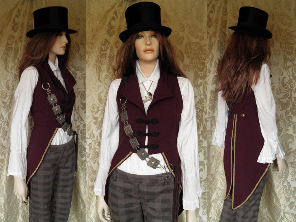 Donne moi des ailes steampunk - Steampunk style vestimentaire ...