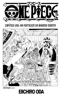 One Piece 806 Mangá Português leitura online