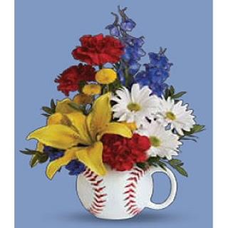 Send Flowers in a Baseball