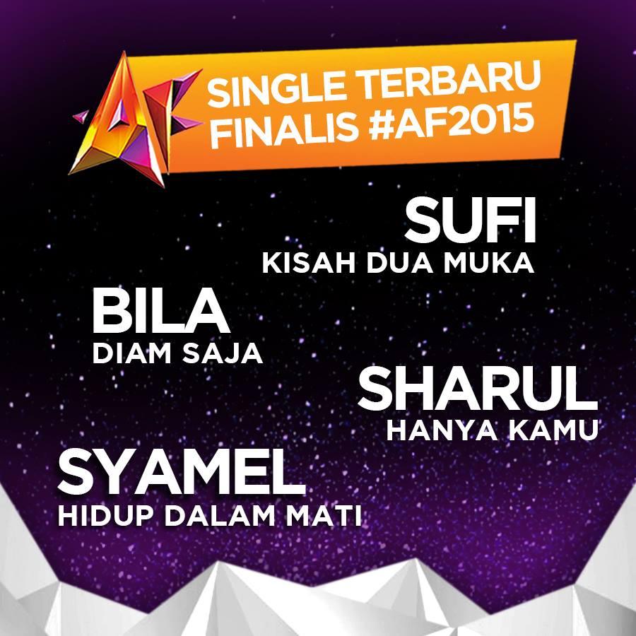 lagu single FINALIS PENTAS AKHIR AF2015