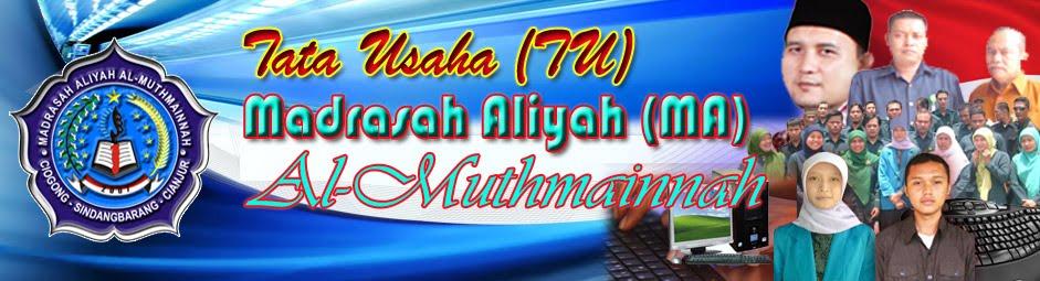 TATA USAHA (TU) MAS AL-MUTHMAINNAH