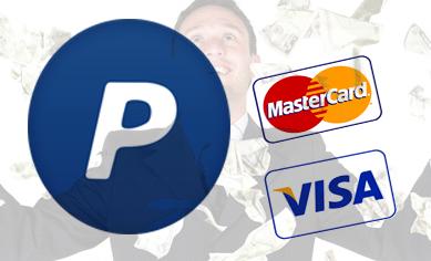 الجزء الخامس : أنشاء حساب باي با ل PayPal مفعل ب Visa أو MasterCard