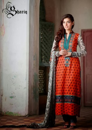 New Fashion Lawn Dresses 2014