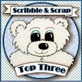 top three scribble and scrap