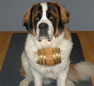 St. Bernard Dog Barrel Collars