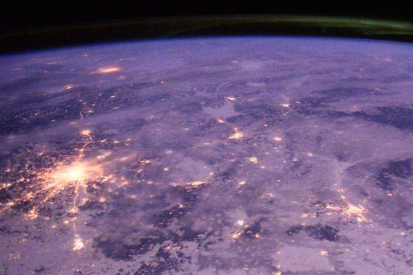 Англичанин сфотографировал из космоса зимний Тамбов