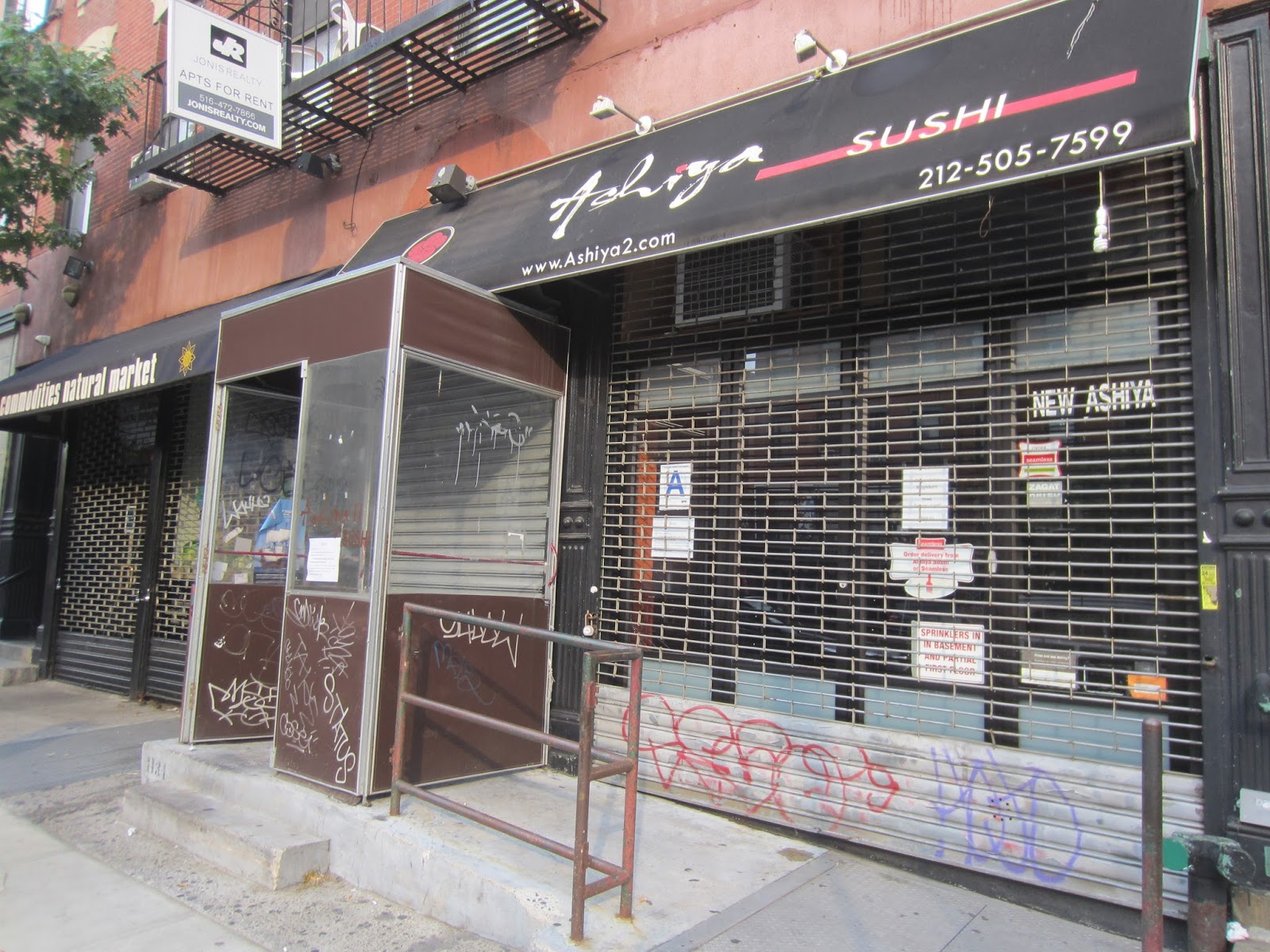 Ev grieve ashiya sushi has moved away from the east village for Ashiya japanese cuisine