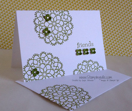 Stampin' Up! Fancy Friend Card Kit