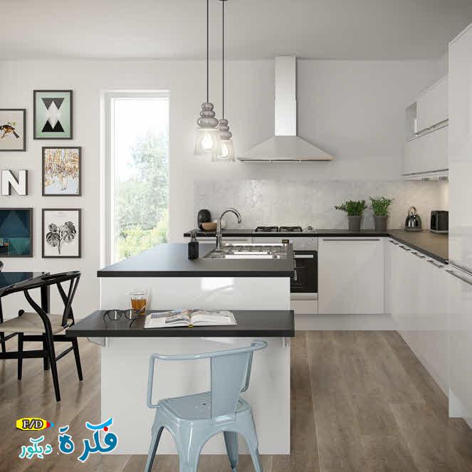 Modern Small Kitchen Design Ideas 2015: ديكورات مطابخ-kitchen Decorating