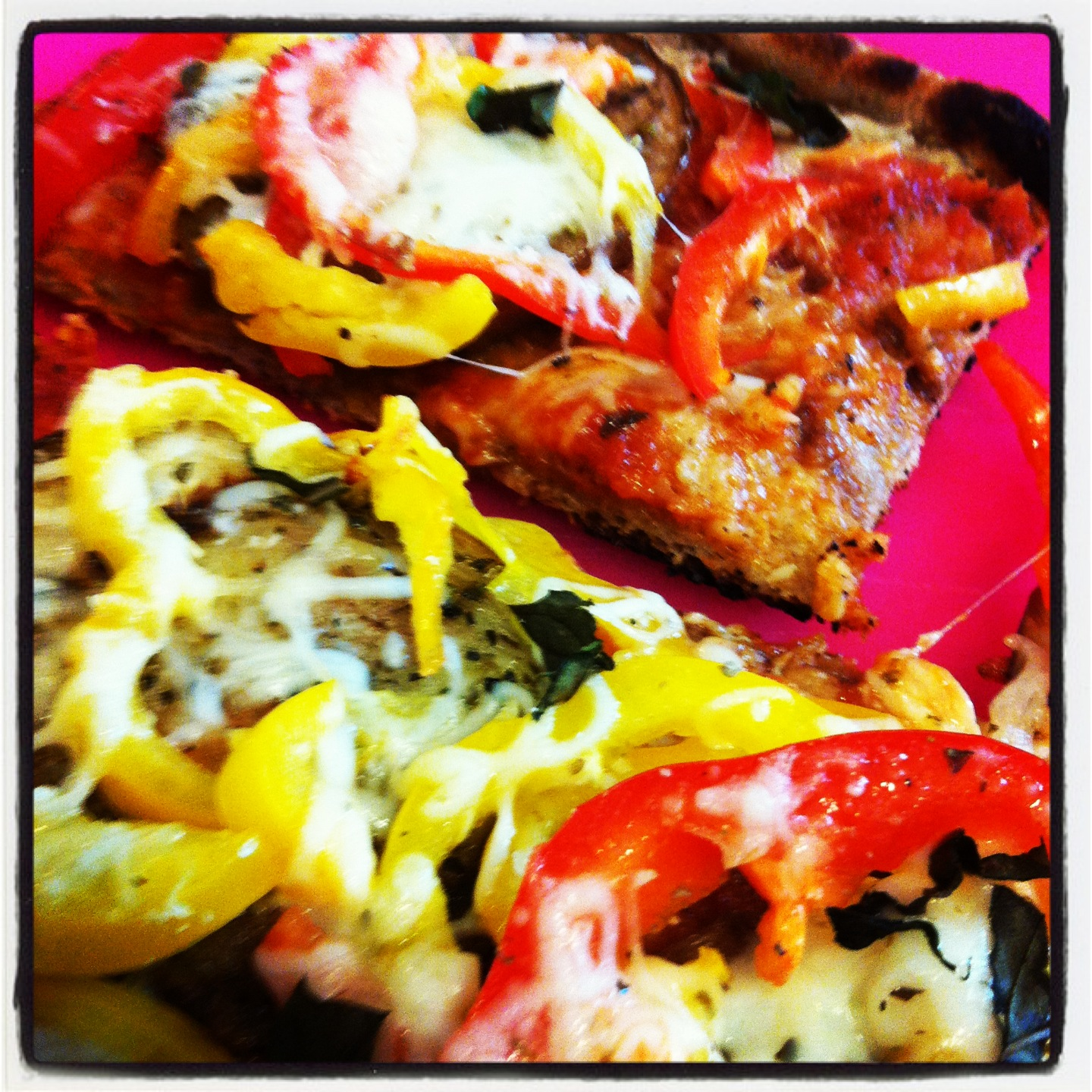 Dinner, a Dog & a Blog: Grilled Eggplant Pizza