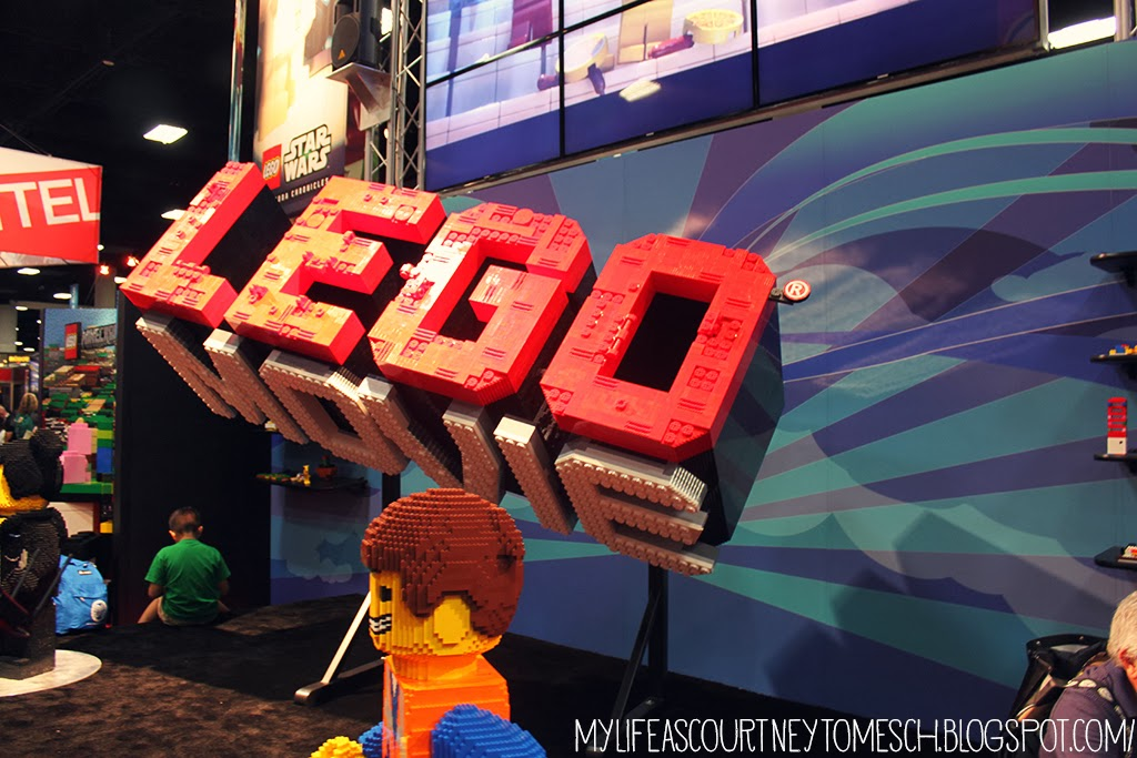 San Diego Comic Con 2013 Lego Movie