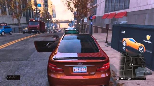 watch dogs cars