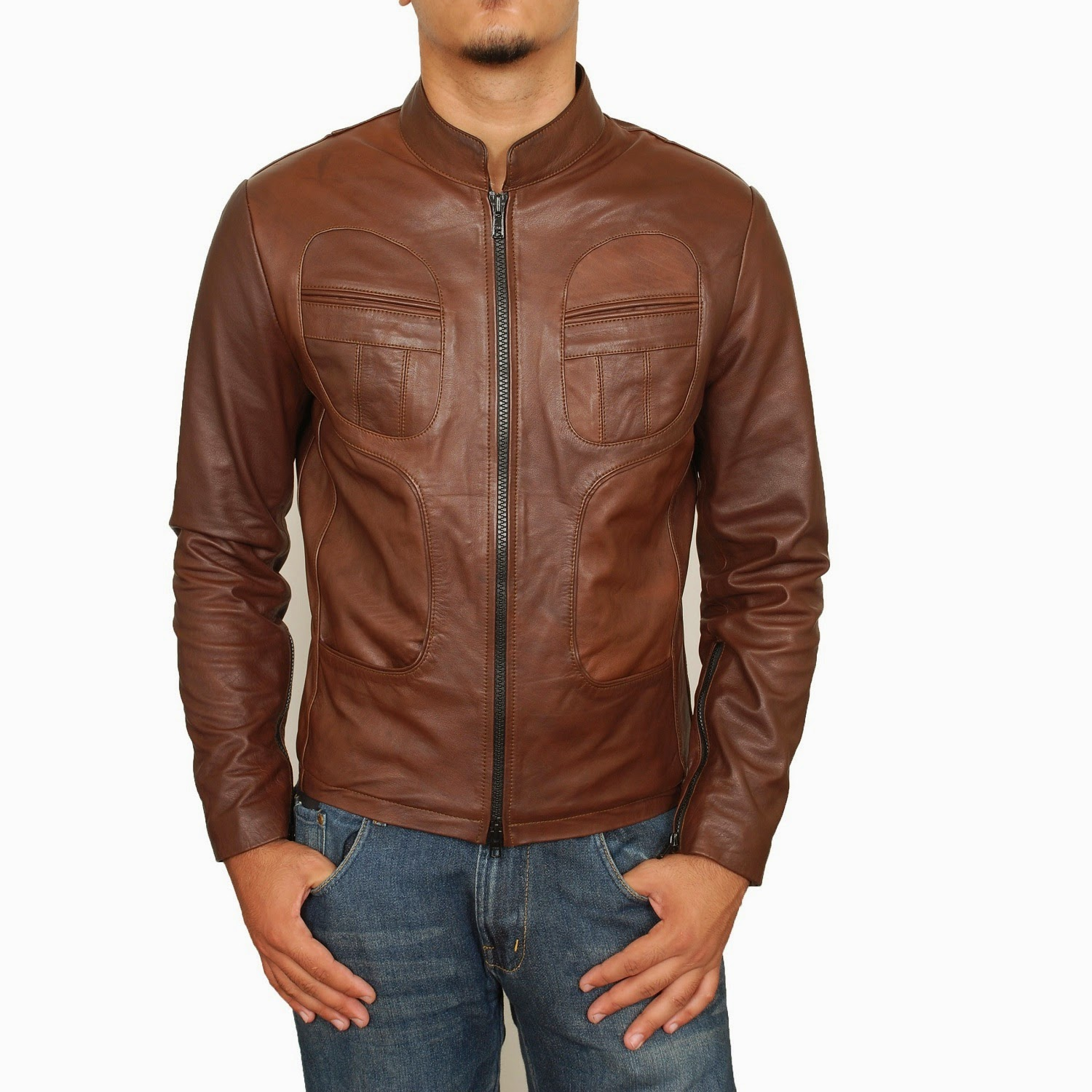 Images For Dark Brown Leather Jacket For Men | Fashionu0026#39;s Feel | Tips And Body Care