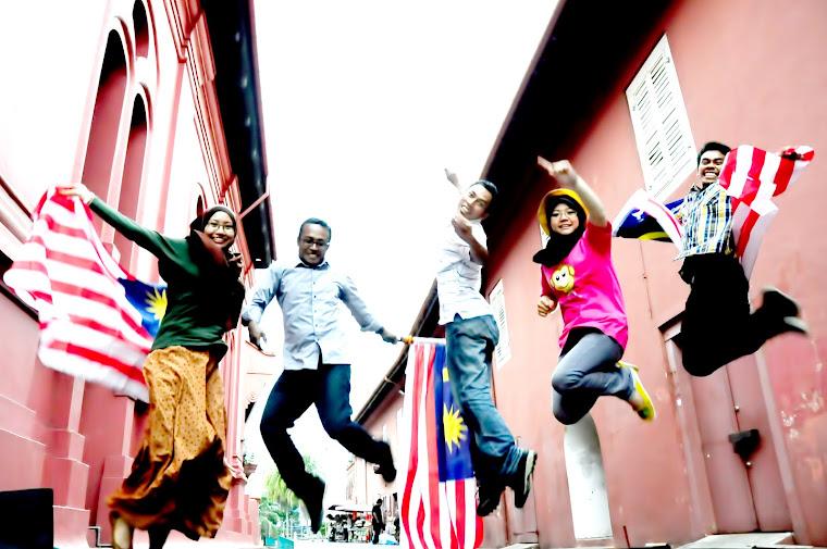 celebrating merdeka