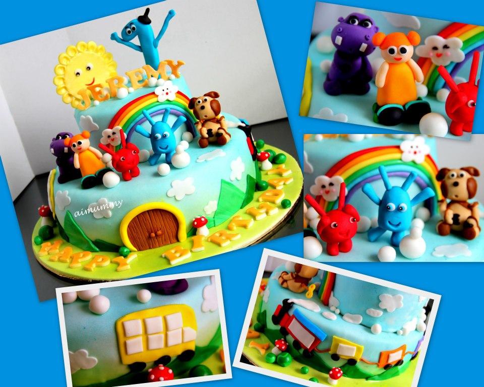 AiMummy Baby tv cake